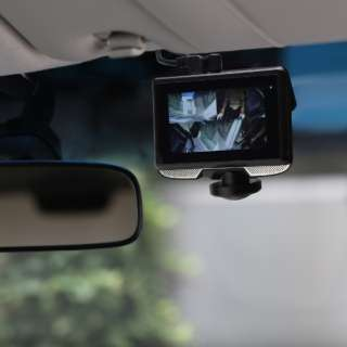 リアカメラ付き 360°ドライブレコーダー DIXIA DX-DR360 [Full HD(200万画素) /前後カメラ対応]
