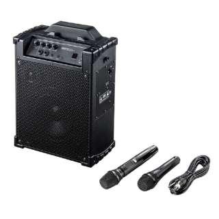 ワイヤレスマイク付き拡声器スピーカー MM-SPAMP10