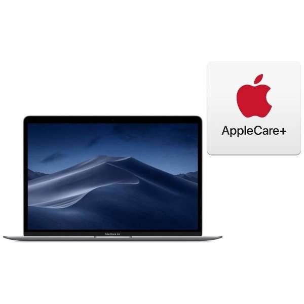 MacBook Air 13インチRetinaディスプレイ+AppleCare [2019年 /SSD 128GB/メモリ 8GB/1.6GHzデュアルコアIntel Core i5]スペースグレイ MVFH2J/A