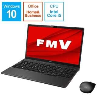 FMVA52D3BB ノートパソコン LIFEBOOK AH52/D3 ブライトブラック [15.6型 /intel Core i5 /Optane:32GB /SSD:512GB /メモリ:8GB /2020年1月モデル]