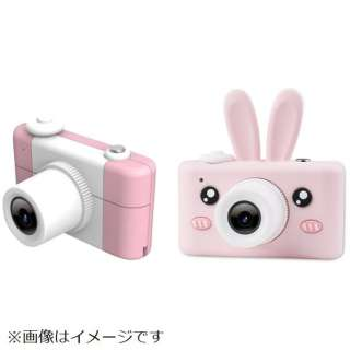 キッズカメラ5 アニマルD3 PLUS アニマルシリコンケース付き ピンク IQ-KCA5-PK