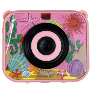 防水キッズカメラ ピンク IQ-KCA12-PK