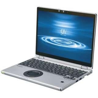 ノートパソコン Let's note(レッツノート)QVシリーズ シルバー&ブラック CF-QV8NDMQR [12.0型 /intel Core i5 /SSD:256GB /メモリ:16GB /2020年01月モデル]