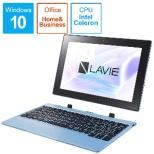 PC-FM150PAL ノートパソコン LAVIE First Mobile(FM150/PAL) ライトブルー [10.1型 /intel Celeron /eMMC:128GB /メモリ:4GB /2020年春モデル]