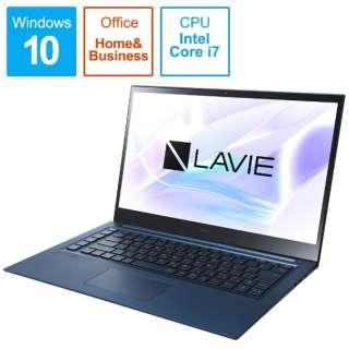 PC-LV750RAL ノートパソコン LAVIE VEGA(LV750/RA 有機EL 4K対応) アルマイトネイビー [15.6型 /intel Core i7 /Optane:32GB /SSD:512GB /メモリ:8GB /2020年春モデル]