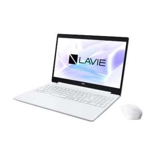 PC-NS700RAW ノートパソコン LAVIE Note Standard(NS700/RA) カームホワイト [15.6型 /intel Core i7 /HDD:1TB /SSD:256GB /メモリ:8GB /2020年春モデル]