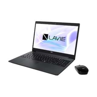PC-NS600RAB ノートパソコン LAVIE Note Standard(NS600/RA) カームブラック [15.6型 /AMD Ryzen 7 /SSD:256GB /メモリ:8GB /2020年春モデル]