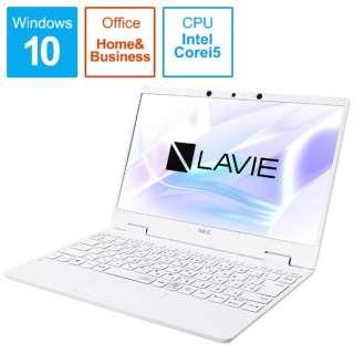 PC-NM550RAW ノートパソコン LAVIE Note Mobile(NM550/RA) パールホワイト [12.5型 /intel Core i5 /SSD:256GB /メモリ:8GB /2020年春モデル]