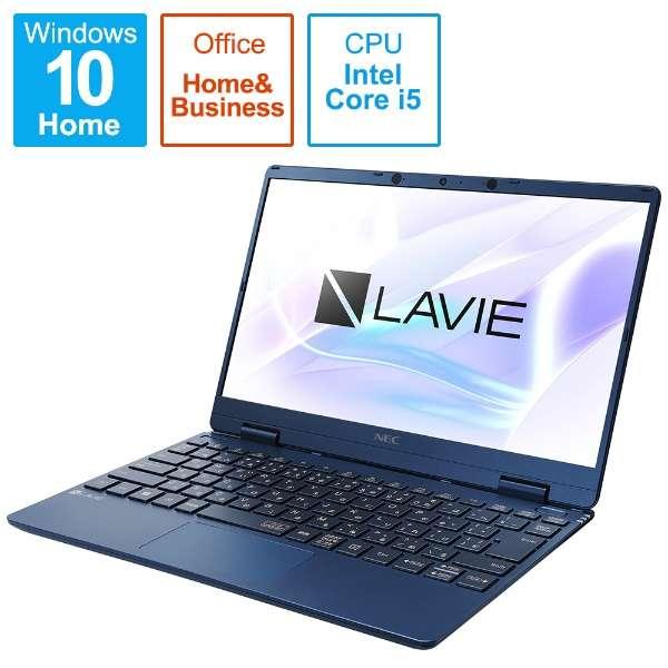 PC-NM550RAL ノートパソコン LAVIE Note Mobile(NM550/RA) ネイビーブルー [12.5型 /intel Core i5 /SSD:256GB /メモリ:8GB /2020年春モデル]