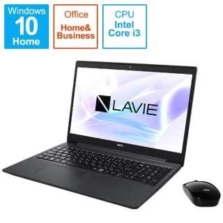 PC-NS310RAB-2 ノートパソコン LAVIE Note Standard(NS300/RA) カームブラック [15.6型 /intel Core i3 /SSD:256GB /メモリ:8GB /2020年春モデル]