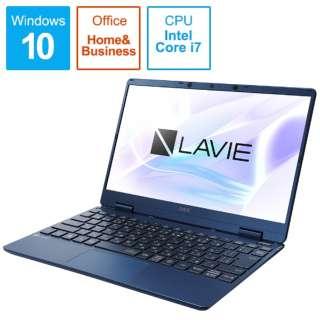 PC-NM750RAL-2 ノートパソコン LAVIE Note Mobile(NM750/RA サービスパック) ネイビーブルー [12.5型 /intel Core i7 /SSD:512GB /メモリ:8GB /2020年春モデル]