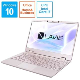 PC-NM750RAG-2 ノートパソコン LAVIE Note Mobile(NM750/RA サービスパック) メタリックピンク [12.5型 /intel Core i7 /SSD:512GB /メモリ:8GB /2020年春モデル]