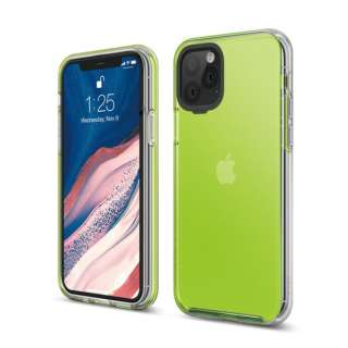 elago エラゴ HYBRID CASE for iPhone11 Pro (Neon Yellow) ネオンイエロー EL_IKSCSPTHB_NY