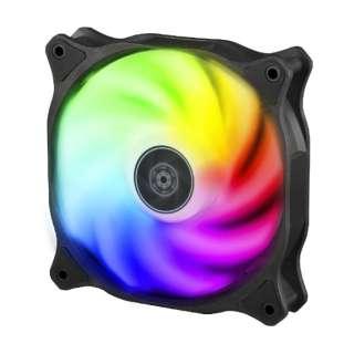 ケースファン[120mm / 2200RPM] Air Blazer 120R 半透明ファンブレード、ブラックフレーム SST-AB120R-ARGB
