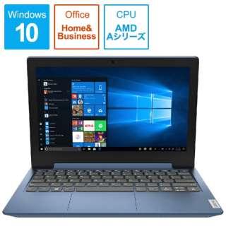 81VR001CJP ノートパソコン IdeaPad Slim 150 アイスブルー [11.6型 /AMD Aシリーズ /SSD:128GB /メモリ:4GB /2020年1月モデル]