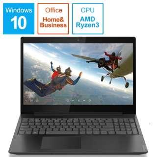 81LW00FGJP ノートパソコン IdeaPad L340 グラナイトブラック [15.6型 /AMD Ryzen 3 /SSD:256GB /メモリ:8GB /2020年1月モデル]