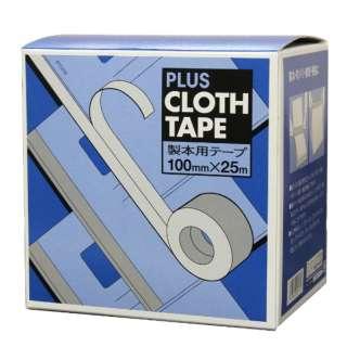 紙クロステープ100mm*25m黒 40-606