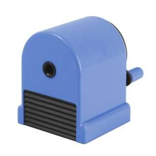 鉛筆削り[手動式] ペンシルシャープナー ウィッティ・パーティ シリーズ ブルー WP-130N