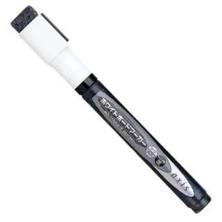 ホワイトボードマーカー直液式黒 050838
