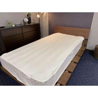 【ベッドパッド】ウォッシャブルベッドパッド シングルサイズ(100×200cm/ベージュ)