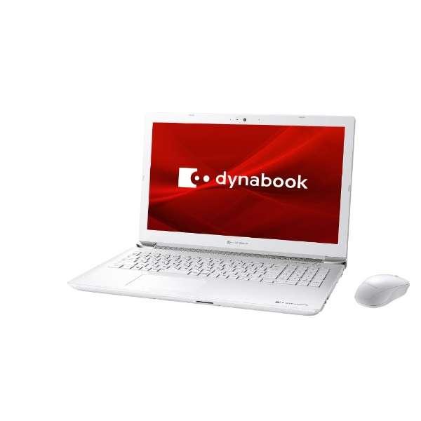 P1X7MPBW ノートパソコン dynabook X7 リュクスホワイト [15.6型 /intel Core i7 /HDD:1TB /SSD:256GB /メモリ:8GB /2020年春モデル]