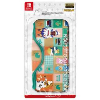 QUICK POUCH COLLECTION for Nintendo Switch どうぶつの森Type-A CQP-009-1 【Switch】