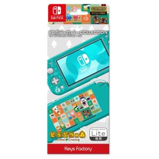 PC BODY COVER COLLECTION for Nintendo Switch Lite どうぶつの森 CPC-101-1 【Switch Lite】