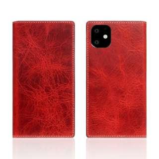 iPhone11 Badalassi Wax case レッド