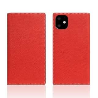 iPhone11 Minerva Box Leather Case レッド