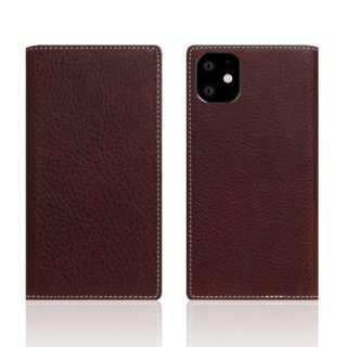 iPhone11 Minerva Box Leather Case ブラウン