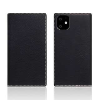 iPhone11 Minerva Box Leather Case ブラック