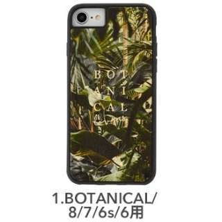 [iPhone 8/7/6s/6専用]kibaco WOOD iPhone Case kibaco BOTANICAL LOVERS 663-104498