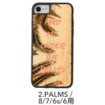 [iPhone 8/7/6s/6専用]kibaco WOOD iPhone Case kibaco FIND ME UNDER THE PALMS 663-104504