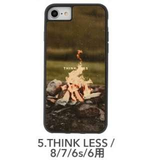 [iPhone 8/7/6s/6専用]kibaco WOOD iPhone Case kibaco THINK LESS 663-104535