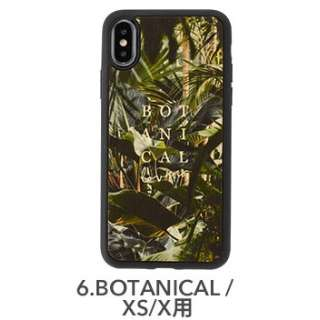 [iPhone XS/X専用]kibaco WOOD iPhone Case kibaco BOTANICAL LOVERS 663-104542
