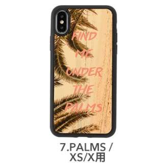 [iPhone XS/X専用]kibaco WOOD iPhone Case kibaco FIND ME UNDER THE PALMS 663-104559