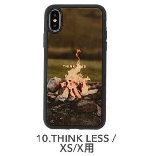 [iPhone XS/X専用]kibaco WOOD iPhone Case kibaco THINK LESS 663-104580