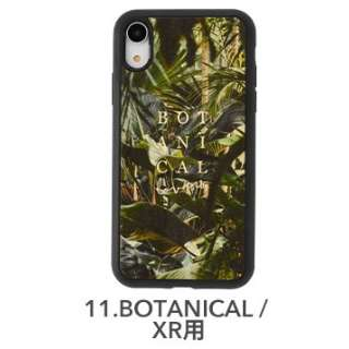 [iPhone XR専用]kibaco WOOD iPhone Case kibaco BOTANICAL LOVERS 663-104597