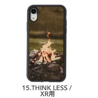 [iPhone XR専用]kibaco WOOD iPhone Case kibaco THINK LESS 663-104634