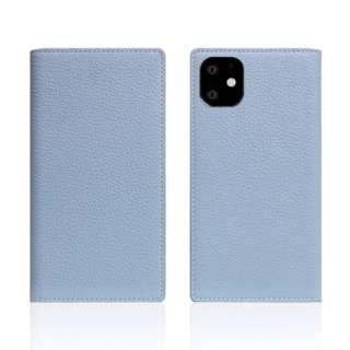 iPhone11 Full Grain Leather Case Powder Blue