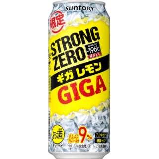 196℃ ストロングゼロ ギガレモン (500ml/24本)【缶チューハイ】