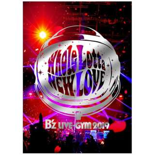 B'z/ B'z LIVE-GYM 2019 -Whole Lotta NEW LOVE- 【DVD】