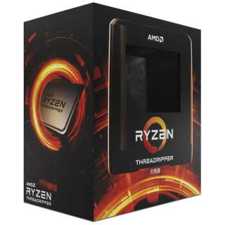 〔AMD CPU〕 AMD Ryzen Threadripper3 3990X BOX(C64/T128、TDP280W、TR4)W/O CPU Cooler 100-100000163WOF