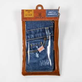 UK Trident iPhone11 Jeansモデル 手帳型ケース UK Trident PSPC-IP1161-VB19a
