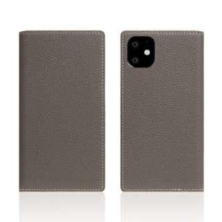 iPhone11 Full Grain Leather Case Etoffe Cream