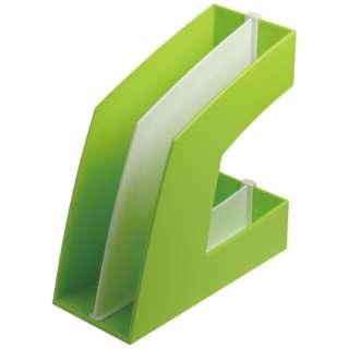ファイルボックス タテ型 グリーン FB-708-G
