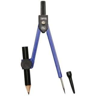 スーパーコンパス 鉛筆用 紺 EC-255-K