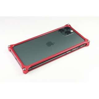 GILD DESIGN ソリッドバンパー for iPhone11Pro レッド