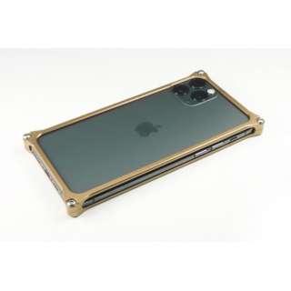 GILD DESIGN ソリッドバンパー for iPhone11Pro シグネイチャーゴールド
