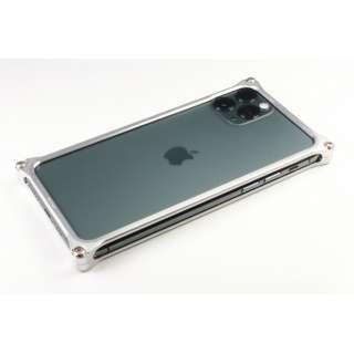 GILD DESIGN ソリッドバンパー for iPhone11ProMax シルバー